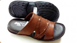 100% Genuine NDM Leather with PU Sole Comfortable Chappals for Mens