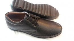 Genuine Synthetic Mild Leather with TPR Sole Shoes for Mens