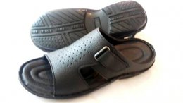 Synthetic Lichie Mild Leather with PU Sole Chappals for Mens