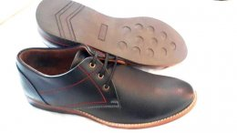 Synthetic Sabrina Leather with TRP Sole Lace-up Casual Shoes for Mens