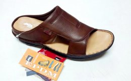 100% Genuine NDM Leather with Lycra Lining and PU Sole Comfortable Chappals for Mens