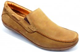 Genuine Nubuck Leather with DD Lined Stylish Casual Shoes for Mens