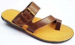 100% Genuine Corpus Leather with Elegent Stiches Finishing Chappals for Mens