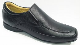 100% Genuine Leather with Enriched Comfort Padded Slip-On Formal Shoes for Mens